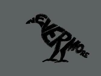 birds typography The Raven Edgar Allan Poe   Wallpaper 111809