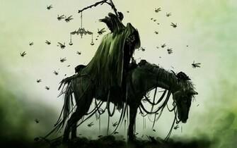 horseman of the apocalypse fantasy hd wallpaper 1920x1200 1486jpg