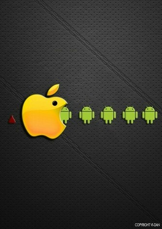 android vs IOS apple