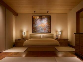 Inside Nobu Ryokan Malibu where rooms start at 1100night