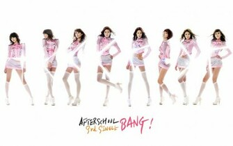 Download After school pink wallpaper