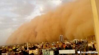 What is a haboob What to know about type of giant dust storm