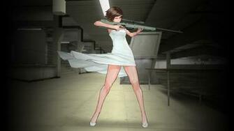Anime Girl Sniper wallpaper 221738