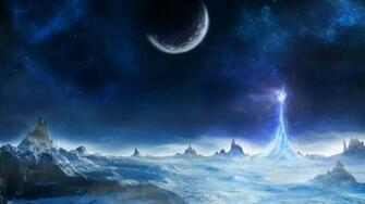 Fantasy Snow Landscape   Wallpaper High Definition High Quality