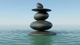 Zen stones in water wallpaper   Digital Art wallpapers   27660