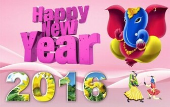 13871 Happy New Year 2016 Widescreen Wallpaper 28801800
