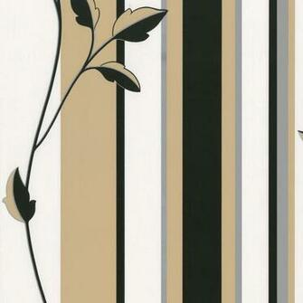 Cream Black Secondary Colour Black Gold Design Style Striped