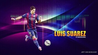 Luis Suarez Barcelona 201415 Wallpaper by jeffery10