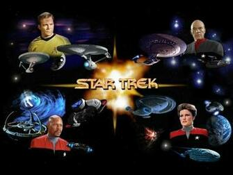 Star Trek desktop wallpaper number 1 Original Version   1024 x 768
