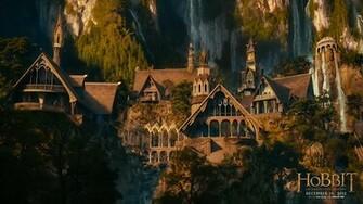 Rivendell Hobbit wallpaper 225912