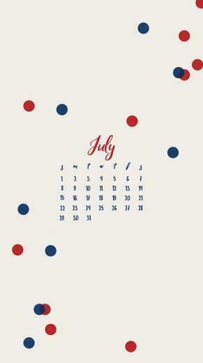 july 2019 iphone calendar designJuly 2019 iPhone Calendar