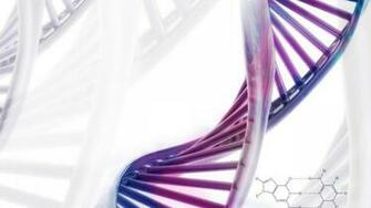 Chromosome dna pattern genetic 3 d psychedelic wallpaper