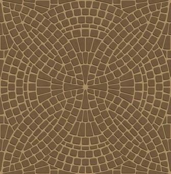 mosaic tiled effect wallpaper Featuring rich bronze brown tiles
