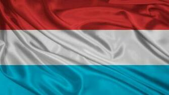 1366x768 Luxembourg Flag desktop PC and Mac wallpaper