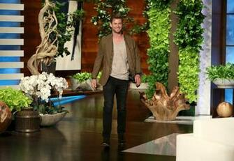 Chris on EllenApril 92019   Chris Hemsworth Photo 42736728