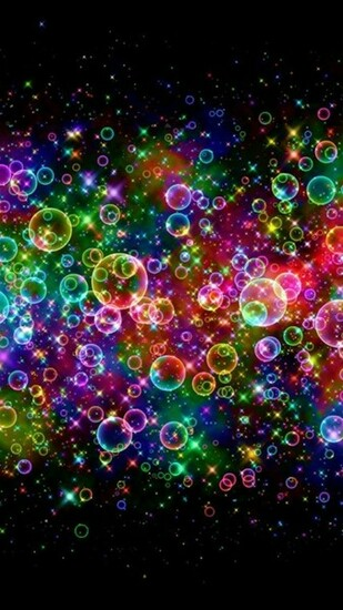 Neon Light Bubbles iPhone 6 6 Plus and iPhone 54 Wallpapers