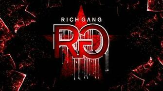 Rich Gang Logo Wallpaper Rich gang album cover