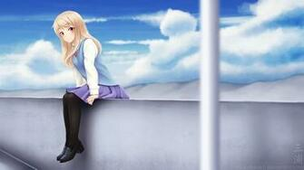 School Girl Anime Fantasy HD Images HD Wallpapers Download