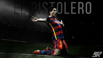 Luis Suarez Wallpaper by snrdesigns
