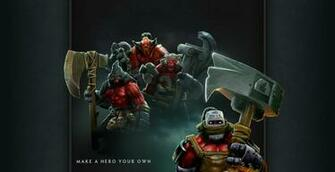 To View this DotA 2 Wallpaper Click the Image to Zoom