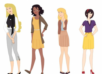 Modern Disney Princesses by iToriiii