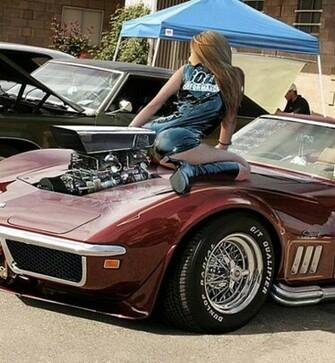 mopar muscle cars girls