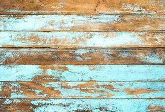 Vintage Beach Wood Background   Old Weathered Wooden Plank Painted