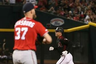 Diamondbacks 18 Nationals 7 Arizona turns Strasburg into a