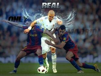 Pepe Vs Barcelona Strikers Wallpaper   Football HD Wallpapers