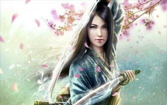 Samurai Girl Hd Wallpapers 8316 Wallpaper Wallpaper hd