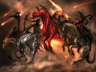 Four Horsemen of the Apocalypse wallpaper   ForWallpapercom