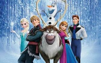 Frozen Elsa Anna Olaf Hans Kristoff Cartoon Cartoons 2880x1800