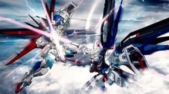 gundam robots fight mecha 1920x1080 wallpaper Anime Gundam Seed HD