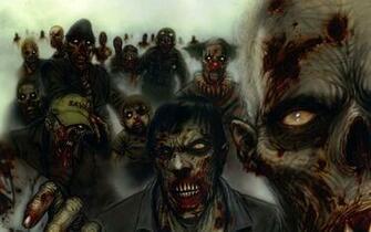 the Zombie Clown Horde Wallpaper Zombie Clown Horde iPhone Wallpaper
