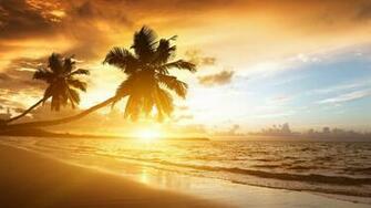 Caribbean Sunset Download 1920x1080
