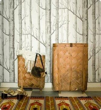 WOODS wallpaper Cole And Son Remodel Pinterest