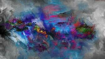 2560x1440 Abstract Nature Painting desktop PC and Mac