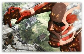 Attack On Titan HD wallpaper for Standard 43 Fullscreen UXGA XGA SVGA