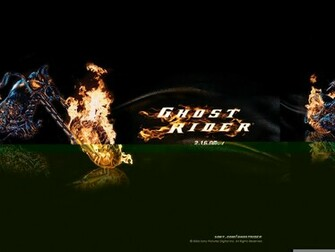 Wallpaper Title Ghost Rider 2 Wallpaper