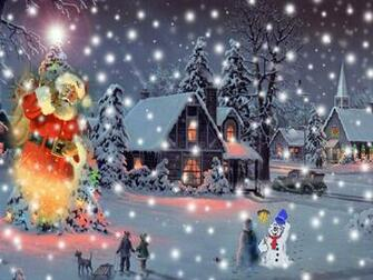 Animated Christmas Wallpapers For Desktop Images Pictures   Becuo