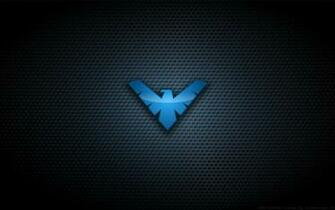 Wallpaper   Nightwing TNBA Logo by Kalangozilla