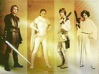 The Skywalker Family   The Skywalker Family Wallpaper 19459727
