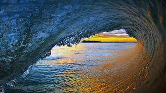 wallpaper sunset shot from in the wave tube background for end of