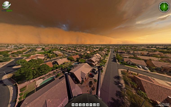 Amazing 360 degree look at a Haboob Dust Storm in PHX   Imgur