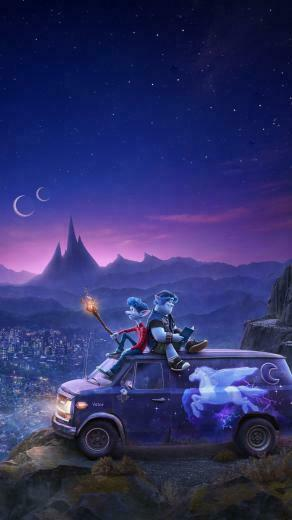 Onward 2020 mobile wallpaper Pixar movies Animated movies Pixar