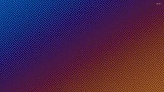 Blue and orange geometrical pattern wallpaper   Vector wallpapers
