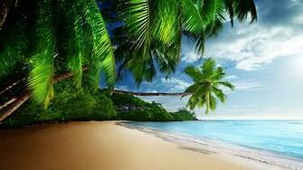Paradise Beach HD wallpaper for 4K 3840 x 2160   HDwallpapersnet