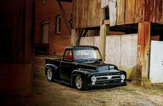 1953 Ford F100 Pickup Hotrod Hot Rod Street USA 2048x1360 01