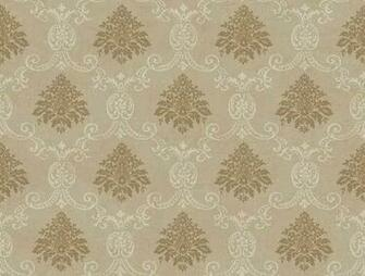 Taupe Document Damask Wallpaper   Wall Sticker Outlet