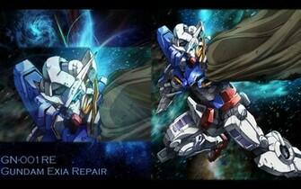 Gallery Mobile Suit Gundam 00 Wallpapers Gundam Exia Repair